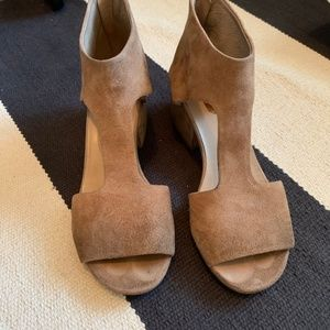 Marsell suede sandals with block heel